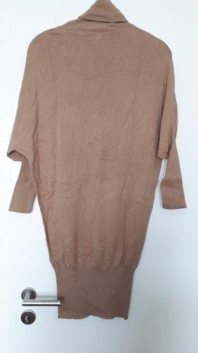 3suisses Sukienka z dzianiny jasnobrązowy
