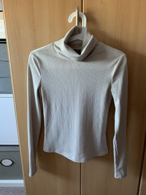 SheIn Turtleneck Shirt cream
