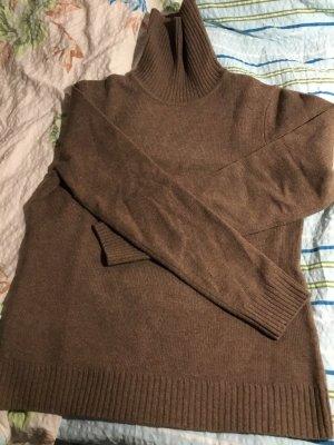 Christian Berg Turtleneck Sweater bronze-colored
