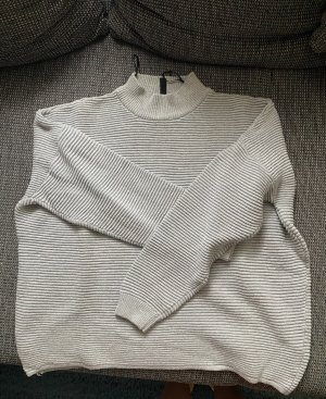H&M Divided Turtleneck Sweater silver-colored-light grey