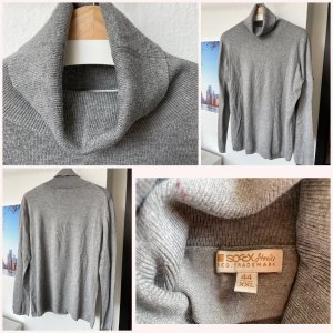 Soccx Turtleneck Sweater light grey