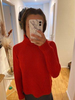 Jacqueline de Yong Maglione dolcevita rosso