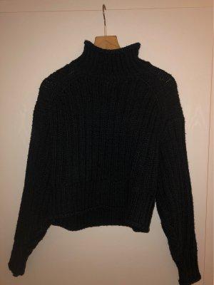 H&M Turtleneck Sweater dark blue