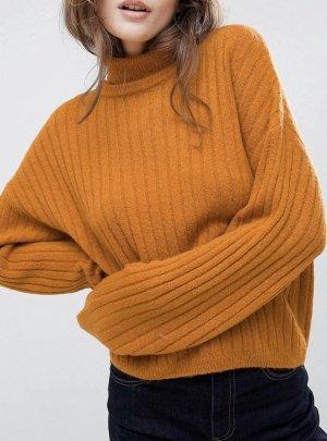 Asos Turtleneck Sweater orange-dark orange