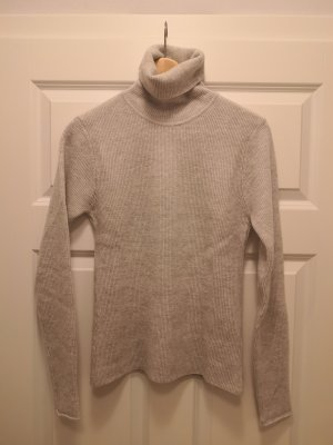 American Vintage Turtleneck Sweater light grey