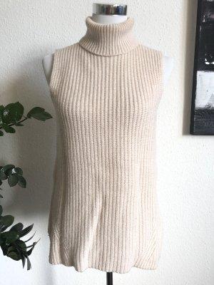Short Sleeve Sweater cream