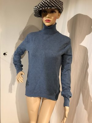 Brookshire Turtleneck Sweater cornflower blue-blue