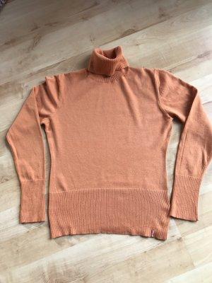 Gin Tonic Turtleneck Sweater dark orange