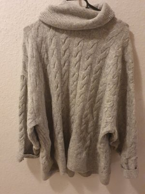 Woman Collection H&M Oversized Sweater light grey