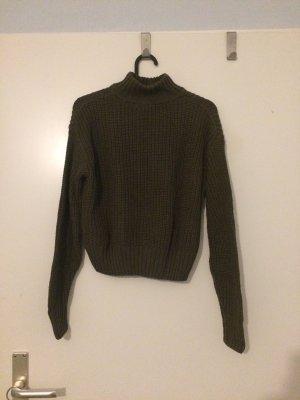 H&M Turtleneck Sweater khaki