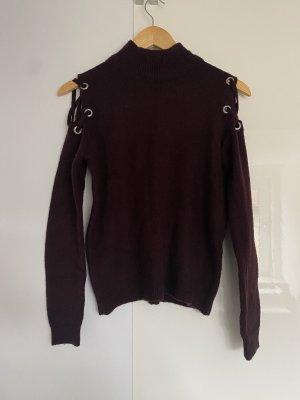 Koton Turtleneck Sweater blackberry-red