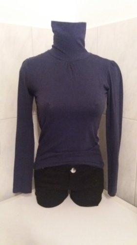 Turtleneck Sweater dark blue