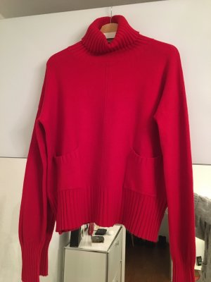 Turtleneck Sweater brick red