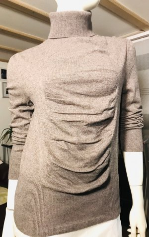 Rollkragenpullover Kaschmir Wolle