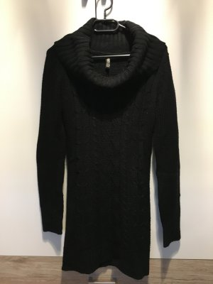 Rollkragenpullover Lang Damen Strick Warm Herbst / Winter