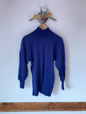 Marc Cain Wool Sweater blue wool
