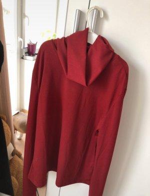SheIn Turtleneck Sweater dark red