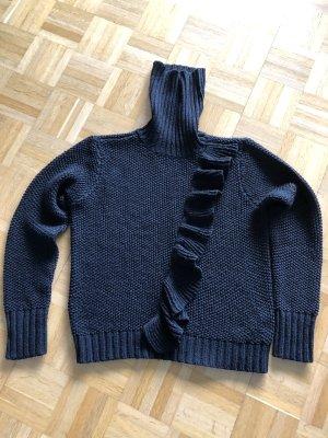 Only Turtleneck Sweater black mixture fibre
