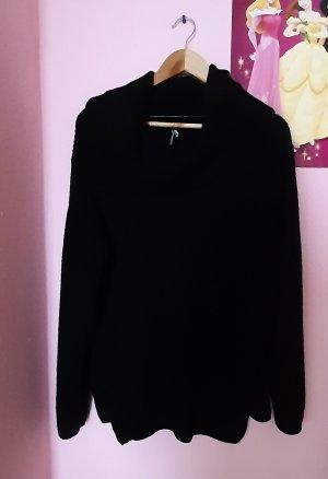 Colours of the World Wełniany sweter czarny