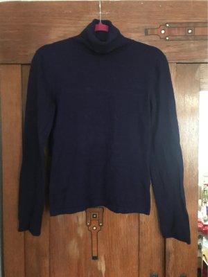 Turnover Turtleneck Sweater dark violet