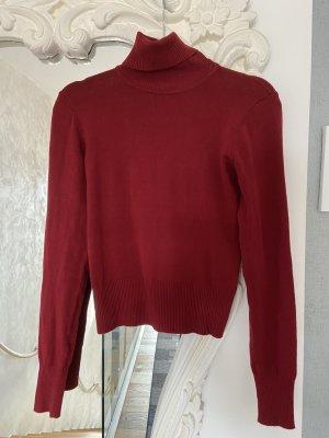 Benetton Turtleneck Sweater bordeaux