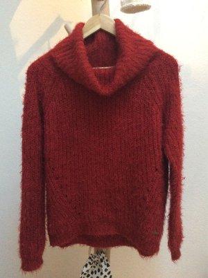 Billabong Turtleneck Sweater red