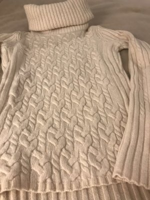 Boss Orange Turtleneck Sweater cream new wool