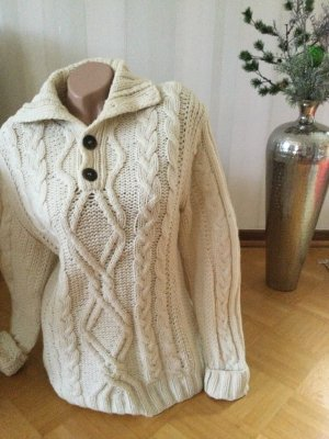 H&M L.O.G.G. Wool Sweater natural white wool