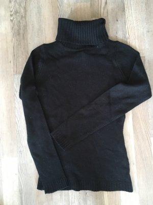 Rollkragenpullover von Madonna in schwarz Größe XS