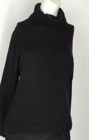 Rollkragenpullover von s.Oliver, schwarz, Gr 40