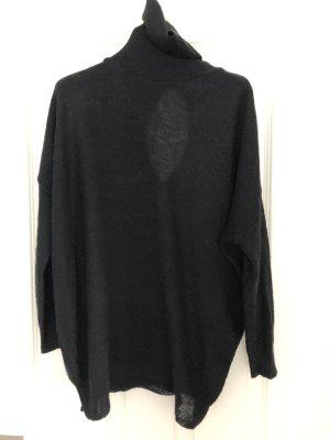 Rollkragenpullover von Zara  , Gr.S , schwarz