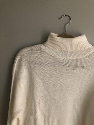 H&M Turtleneck Sweater natural white-white