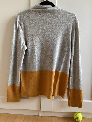 Esprit Turtleneck Shirt light grey-light orange