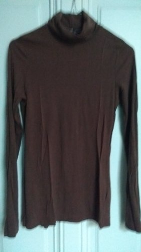 H&M Divided Turtleneck Shirt brown