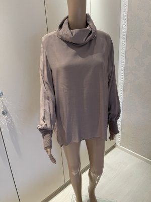 Shelalove Turtleneck Shirt grey brown