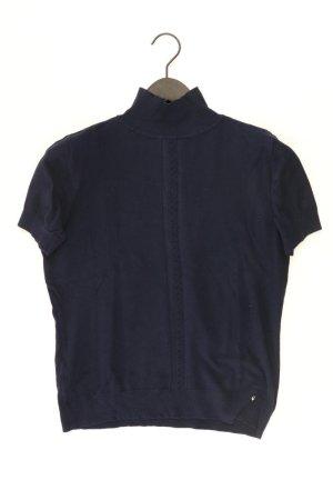 Turtleneck Shirt blue-neon blue-dark blue-azure viscose