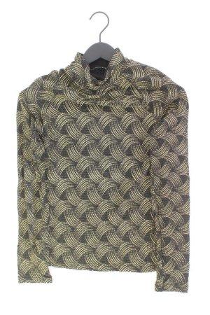 Camisa de cuello de tortuga color oro poliamida