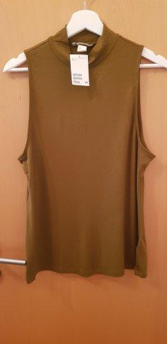 H&M Turtleneck Shirt olive green
