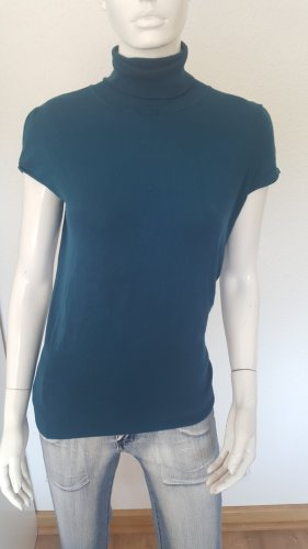 NKD Camisa de cuello de tortuga azul cadete