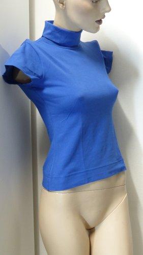 InScene Koszulka z golfem niebieski Bawełna