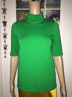 Street One Camisa de cuello de tortuga verde