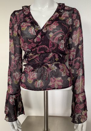 Edc Esprit Wraparound Blouse multicolored