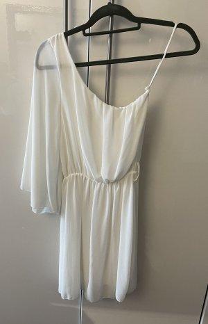 Sukienka na jedno ramię biały