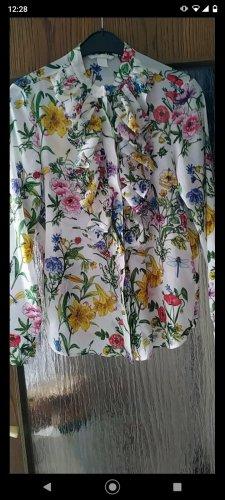 Romantische Bluse mit Blumenmuster