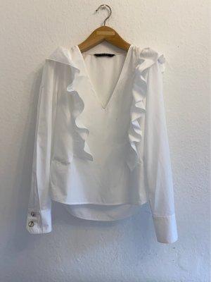 Romantische Bluse von Zara Basic Gr.36/XS, Neuwertig!!! LETZTE PRES!!!