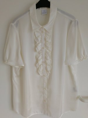 Madeleine Camicetta con arricciature bianco sporco