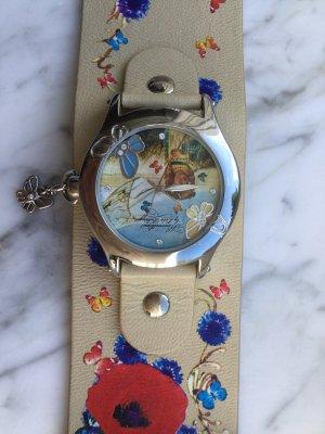 Romantische Uhr von Himmelblau