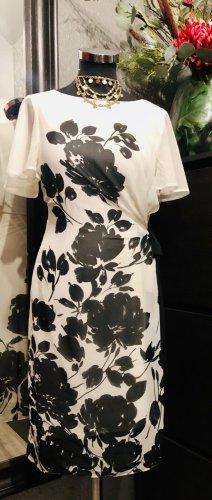 per una by Marks & Spencer Chiffon Dress natural white-black