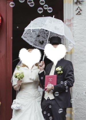 Romantischer Regenschirm für deine Traumhochzeit