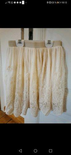 Review Miniskirt natural white-cream